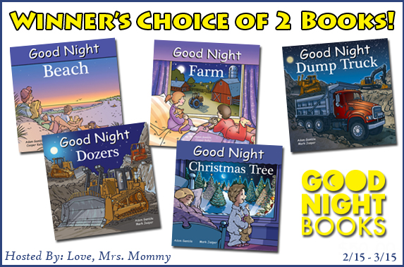 Winner's Choice of 2 Good Night Books Giveaway!