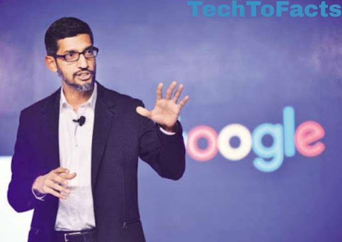What is the salary of Sundar Pichai?