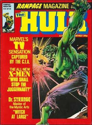 Rampage #20, Hulk