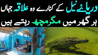 River Nile History Urdu Darya e Nile Ki Kahani Jahan Har Ghar Mein Magarmach Hain Hindi