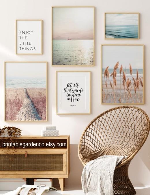 Printable Beach Art Photography Tranquil