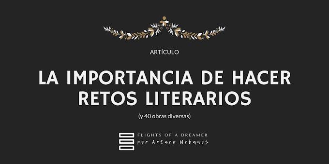 La importancia de hacer retos literarios: 40 obras diversas
