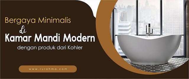 Kamar Mandi dengan Gaya Minimalis Modern