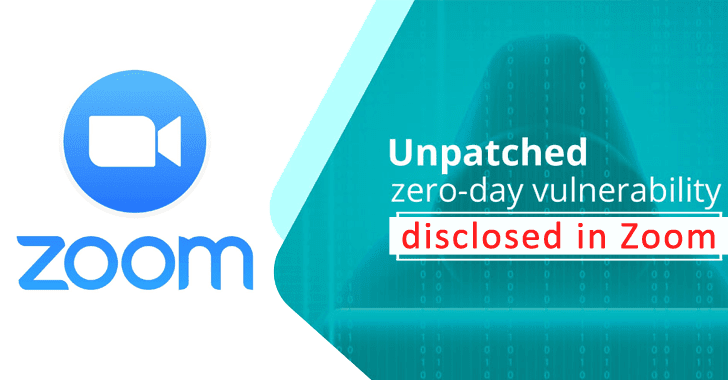 Zoom 0day Vulnerability Let Attackers Execute Arbitrary Code on Victim's Computer