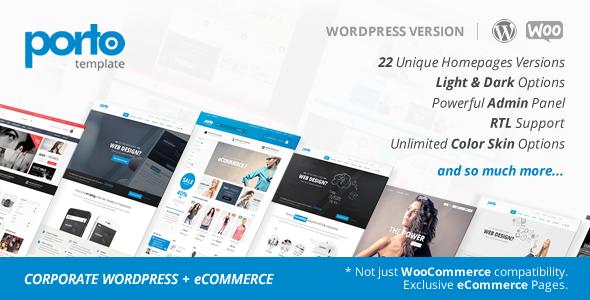 Porto v2.8.3 – Responsive WordPress + WooCommerce Theme