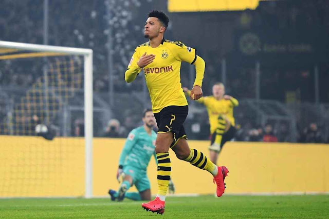 Jadon Sancho move to Manchester United