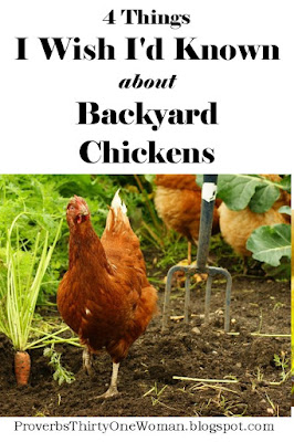 What I Wish I'd Known about Raising Chickens