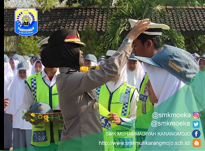 Pelantikan PKS SMK Muhammadiyah Karangmojo