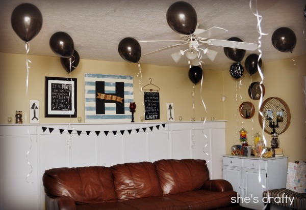 How to decorate for a harry Potter birthday party