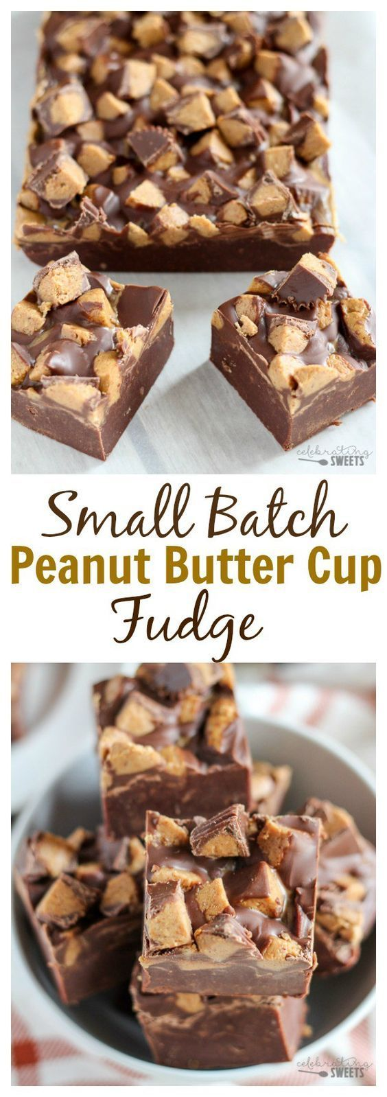 SMALL BATCH PEANUT BUTTER CUP FUDGE #Small #Batch #Peanut #Butter #Cup #fudge #Chocosnickers #Cookies #Bestcookies #Cookiesrecipe #Dessert #Italiandessert #Americandessert #Canadianrecipe #Canadiandessert