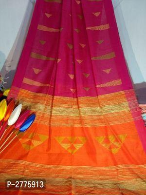 Handloom Cotton Silk Jamdani Sarees