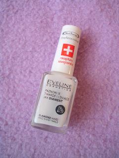 Eveline, diamentowa odżywka do paznokci - efekty