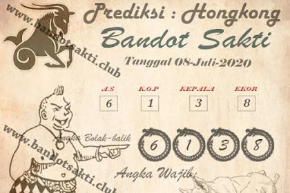 Syair Bandot Sakti Togel Hongkong Rabu 08 Juli 2020