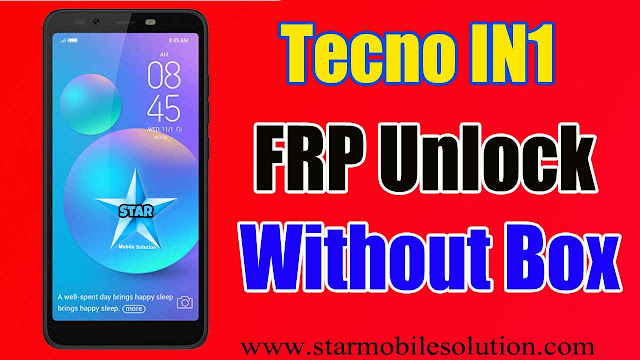 Tecno IN1 Frp Bypass