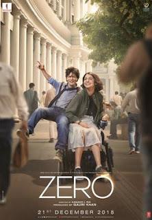 Download Zero (2018) Hindi Full Movie 480p [450MB] | 720p [1.2GB] | 1080p [2.5GB]