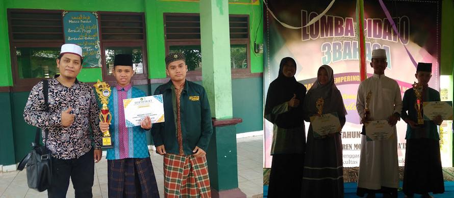 Santri asal Riau, juara 1 Lomba Pidato se-Jabodetabek Peringatan Hari Santri Nasional (HSN) di Bogor