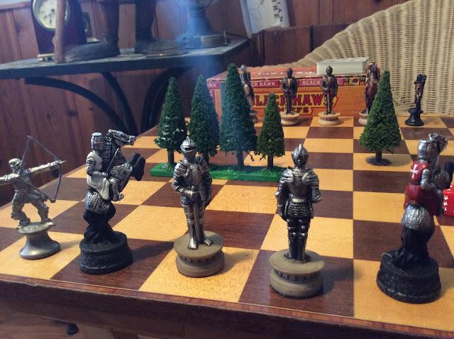 chess board side