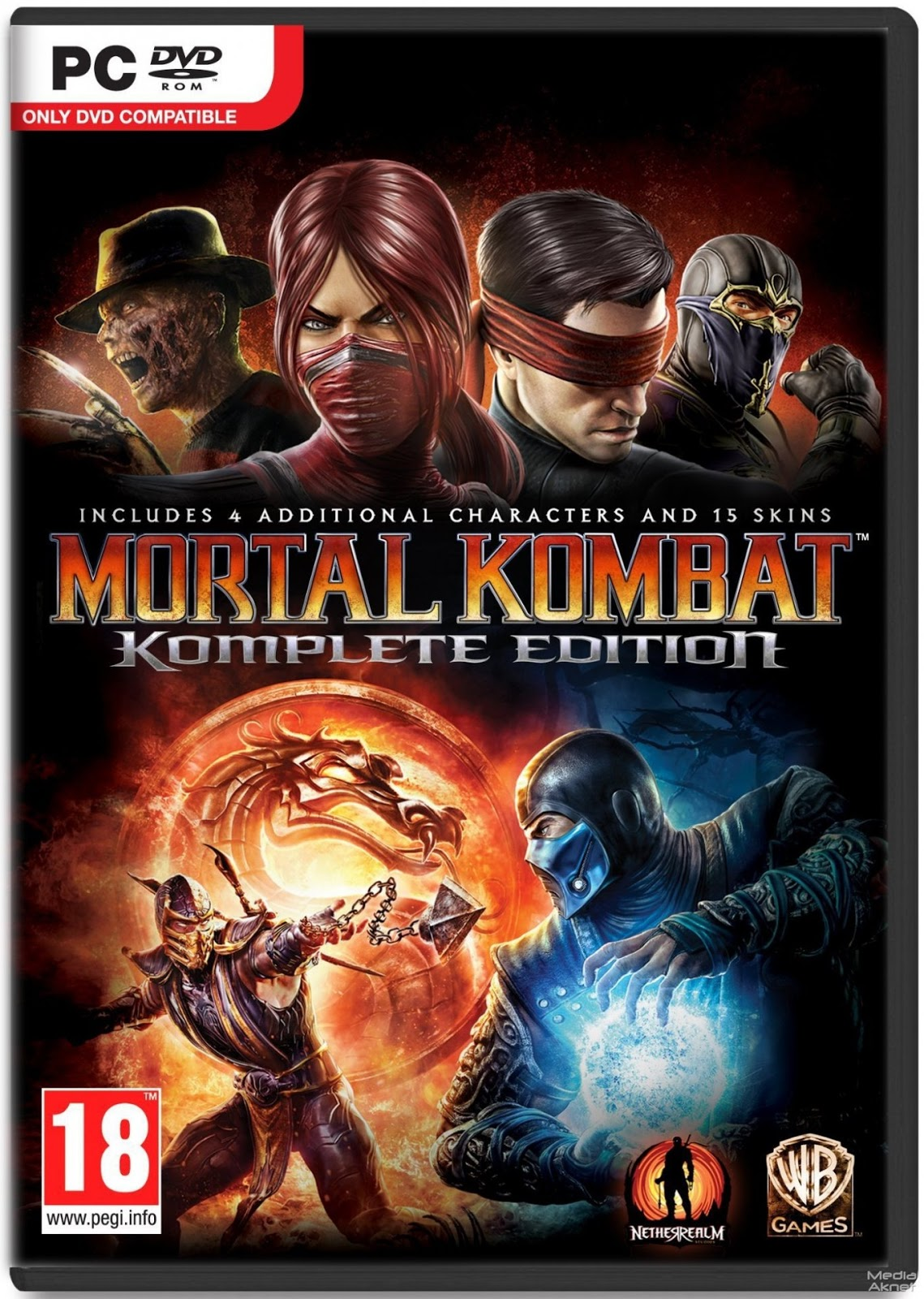 Mortal Kombat Komplete Edition Free Download - Fully Full