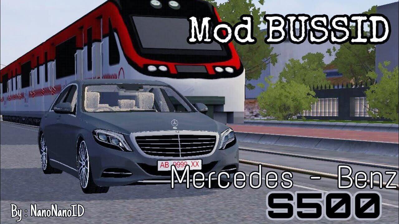 Mod Bussid Mercedes-Benz S500