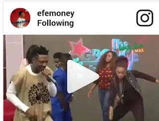 Woow!! Don't Miss This Video of Dancer Kaffy Rocking To BB Naija Winner  EFE's ''Somebody(Watch)