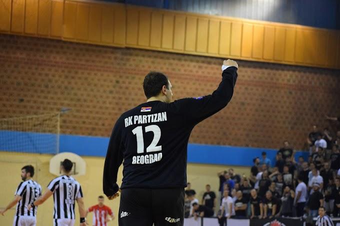 RK Partizan slavio u večitom derbiju! Sjajni Stevanović! (VIDEO)