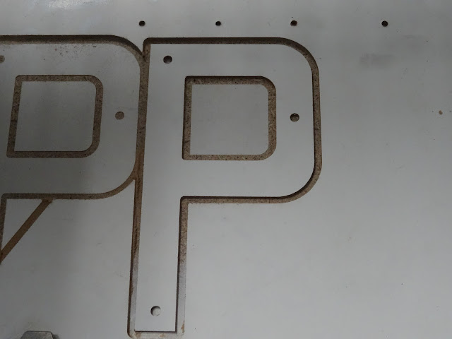 You need a P to make a Parking Sign