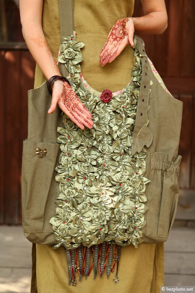 сумка в стиле бохо