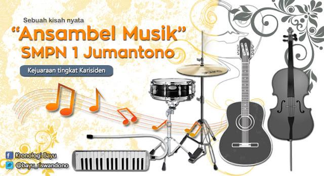 cerita Pengalaman Mengikuti Lomba Ansambel Musik Tingkat Karisiden Kotamadya, Lomba musik smp di karisidenan surakarta.