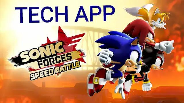 تحميل لعبة Sonic Forces Speed Battle  مفتوحة