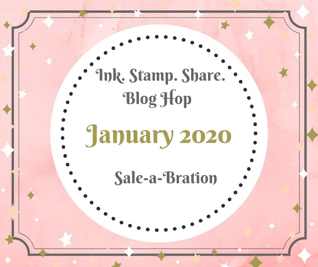 Nigezza Creates With Stampin' Up! and Ink Stamp Share Blog Hop