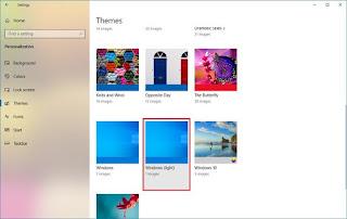 Bagaimana Mengubah Mode Warna Pada Pembaruan Windows 10 19