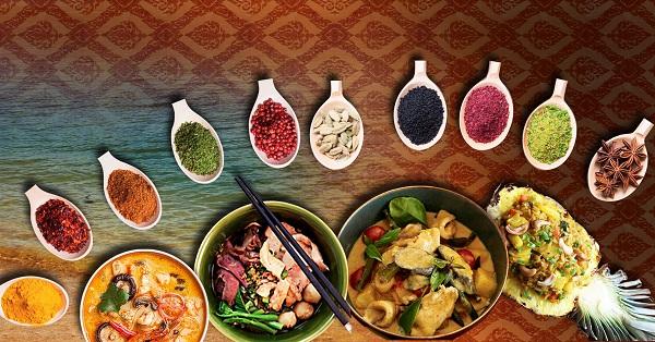 các loại gia vị đặc trưng của Thái Lam