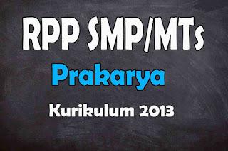 RPP 1 Lembar Prakarya SMP Kurikulum 2013