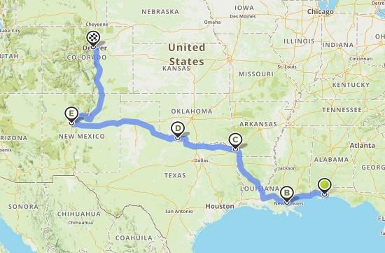Road trip map #2
