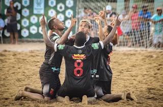 Beach Soccer: Vasco goleia o Flamengo por 5 a 1 e segue 100% no Brasileiro