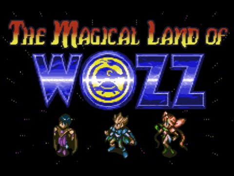 The Magical Land of Wozz cover