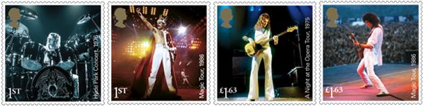 Queen Mini Stamps