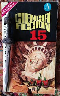 Portada del libro Ciencia ficción 15, de varios autores