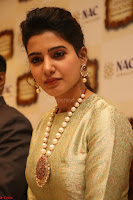 Samantha Ruth Prabhu in Cream Suit at Launch of NAC Jewelles Antique Exhibition 2.8.17 ~  Exclusive Celebrities Galleries 009.jpg