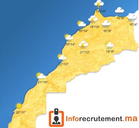Météo Maroc - Vendredi 19 Avril 2020