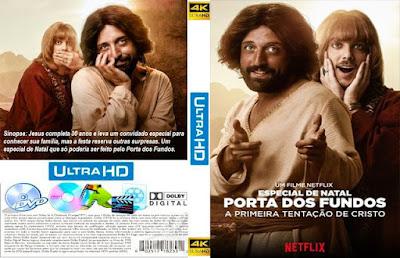 Filme Especial de Natal - A Primeira Tentação de Cristo DVD Capa