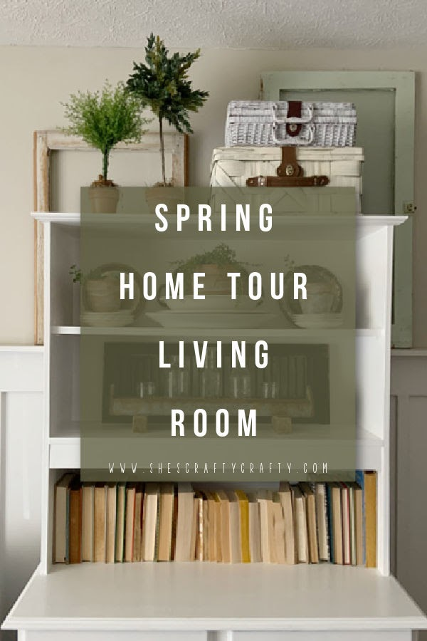 Spring Home Tour - Living Room