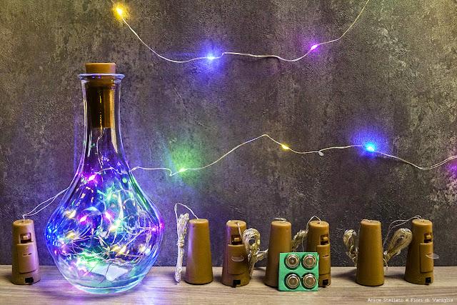 luci led bottiglia amazon