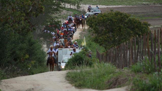 Montadas realiza a 3ª Cavalgada de São José e Missa do Vaqueiro