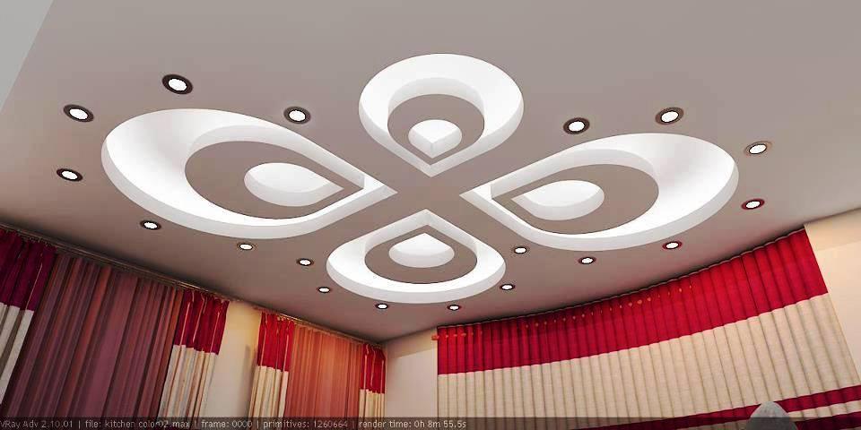 30 Modern Gypsum Board Ceiling Design - Decor Units