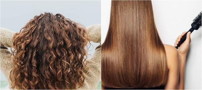 Petua Meluruskan Rambut Tanpa Ke Salun