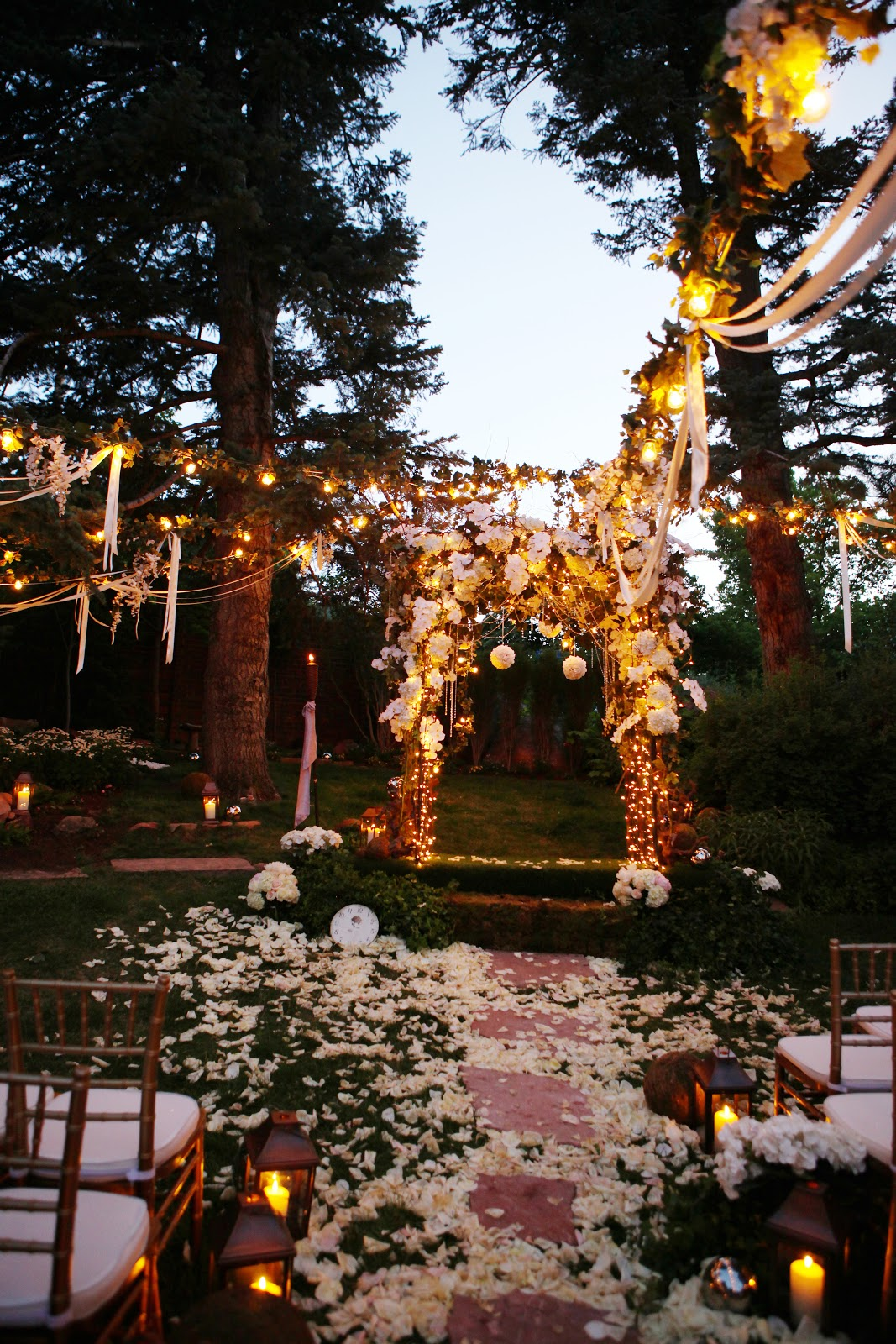 CALLUNA EVENTS: Twilight Wedding In Boulder :: Jaime + Ben