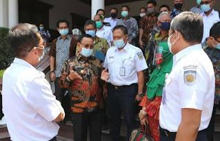 Plt. Bupati Muara Enim Minta PT. KAI Percepat  Pembangunan Flyover di Perlintasan Sebidang