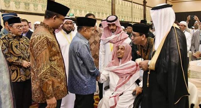 JK Dan Anies Hadir Dalam Pembukaan Multaqo Ulama Kelima Di Jakarta