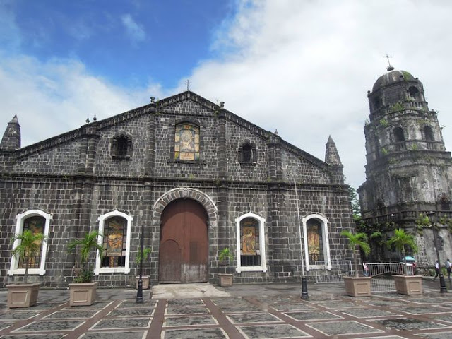 Façade of Tabaco Church